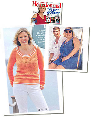 Weigh Down participant Kristine in Ladies Home Journal